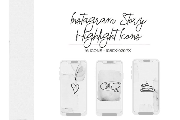 Instagram Stories Highlight Covers