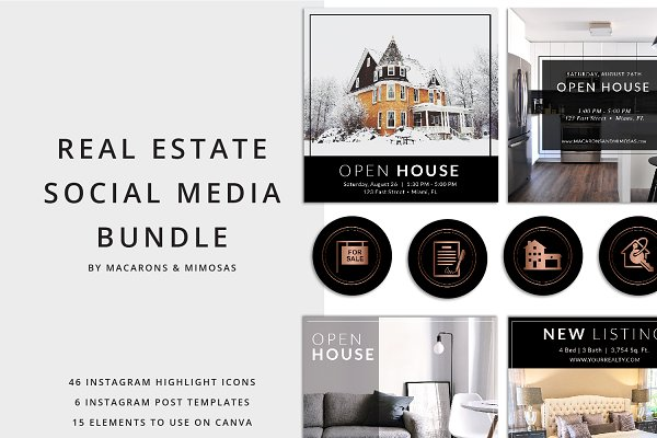 46 Real Estate Instagram Story Icon…