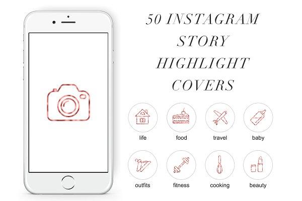 50 Instagram Stories Highlight Icon…