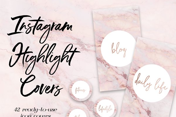 42 Instagram Story Highlight Covers