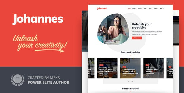 Johannes - Multi-concept Personal Blog & Magazine WordPress theme