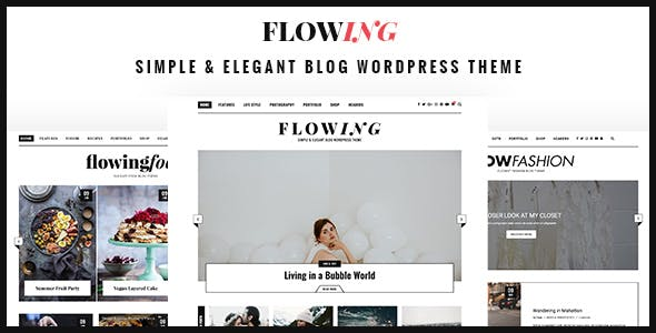 Flowing - Multi-Concept WordPress Blog Theme