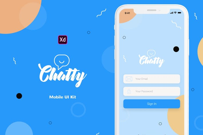 New New Chatty Mobile UI Kit