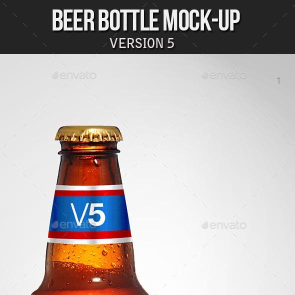Beer Bottle Mockup V5