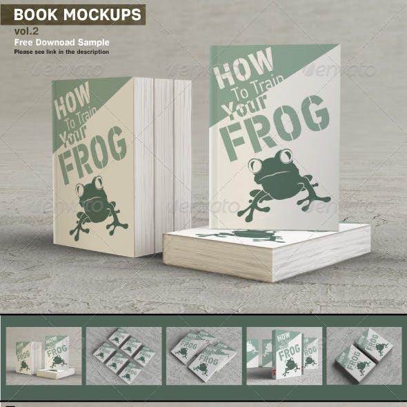 Book Mockups v.2