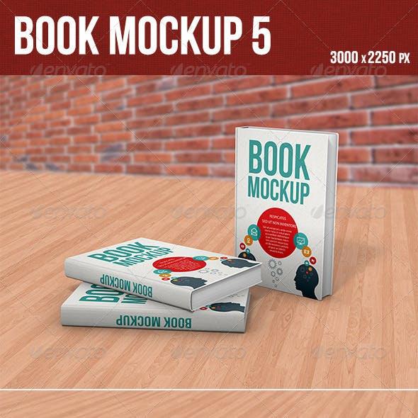 Book Mockup 5