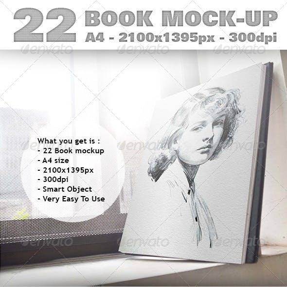 22 Book Mockup