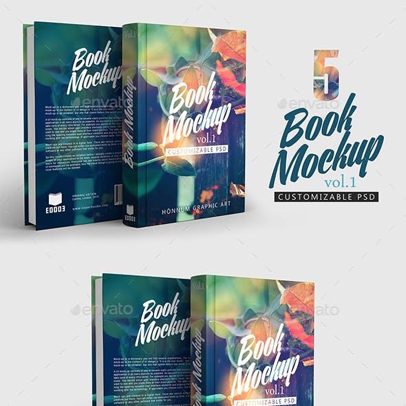 Book Mockup Vol 1