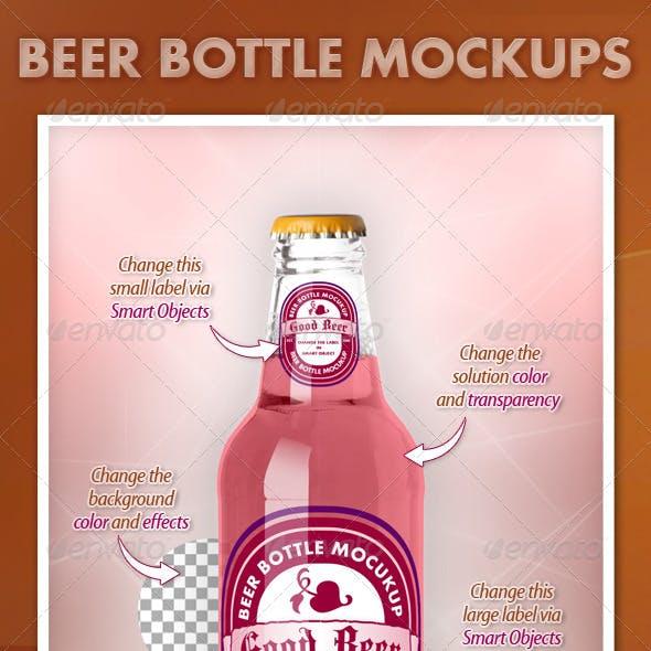 Beer Bottle Mockups V1.0