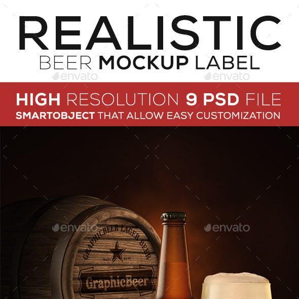 Beer Bottle Mock up