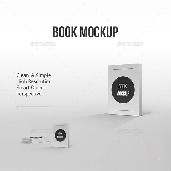 Book Mockup Clean