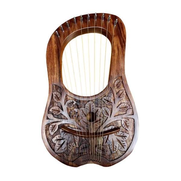 10 Strings Lyre Harp