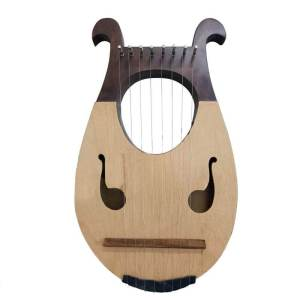 Irish Lyre Harp 8 Strings Rosewood