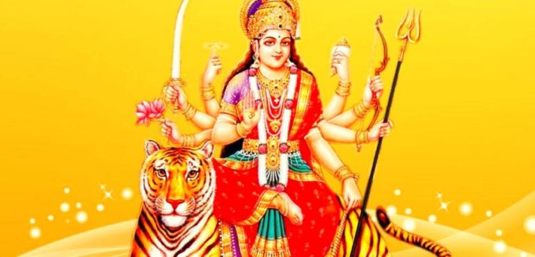 Durga chalisa lyrics in Hindi, English, Telugu, malayalam, Gujarati, Bengali, Tamil