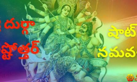Durga Ashtottara lyrics in telugu with benefits, meaning and pdf