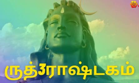 Rudra Ashtakam lyrics in Tamil pdf with meaning, benefits and mp3 song.