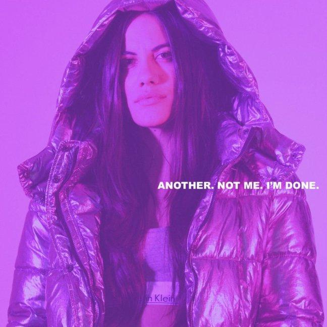 Sofi De La Torre - Another. Not Me. I'm Done. (Album Cover)