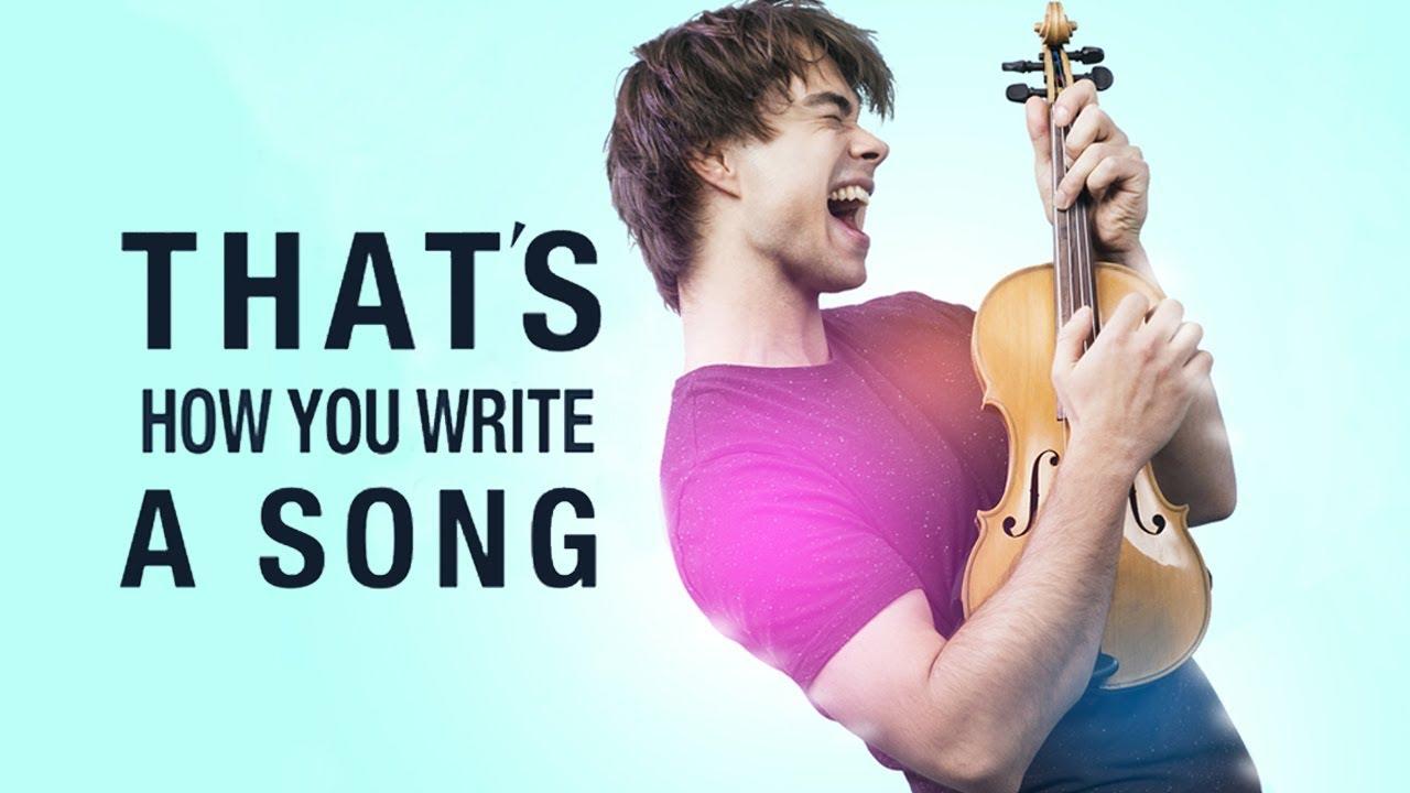 Alexander Rybak – That's How You Write A Song Lyrics