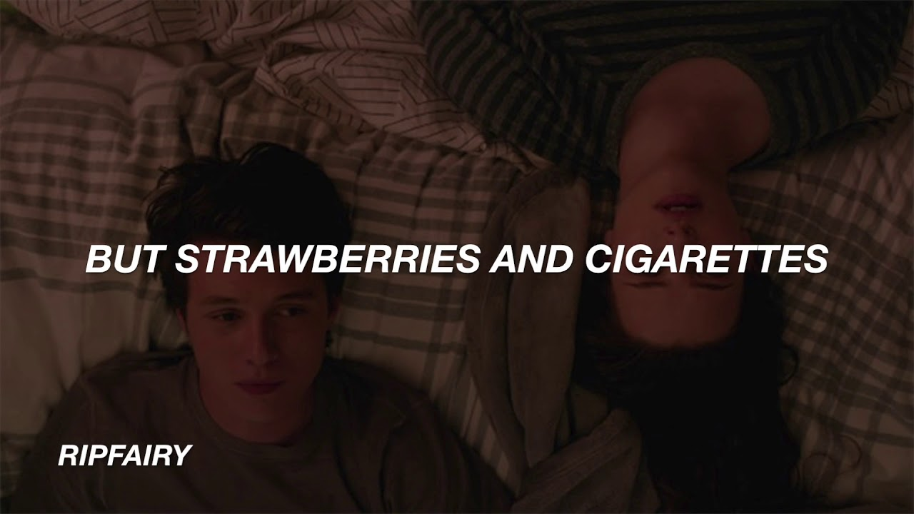 Troye Sivan – Strawberries & Cigarettes Lyrics