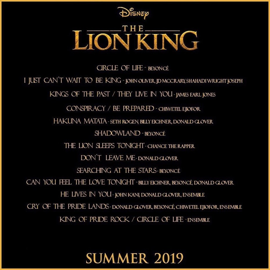 The Lion King Soundtrack