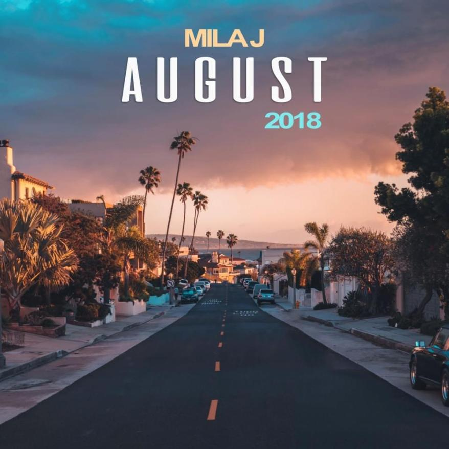 August 2018 - EP Cover Tracklist