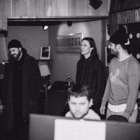 Jon Bellion in studio