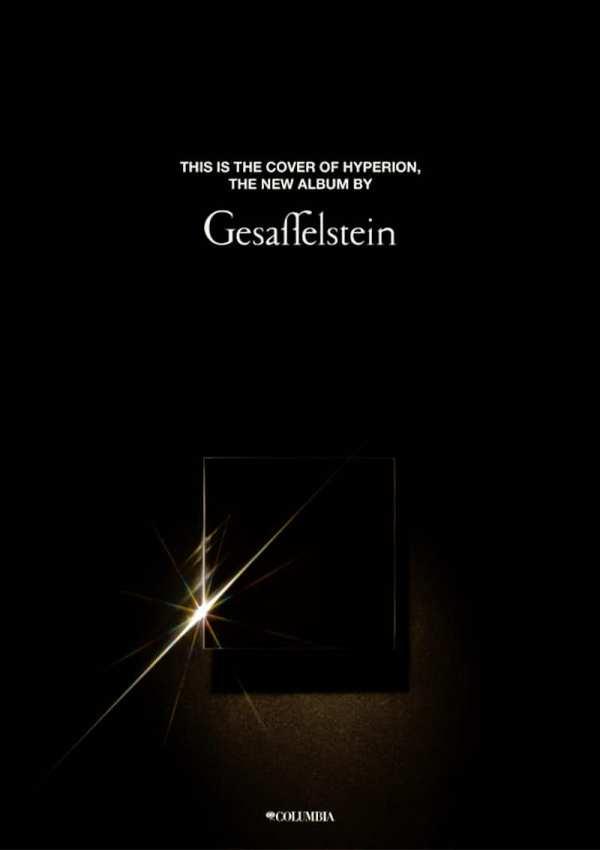 Gesaffelstein - Hyperion LP art