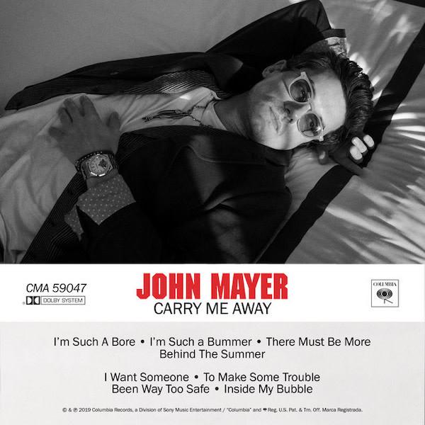John Mayer - Carry Me Away Lyrics