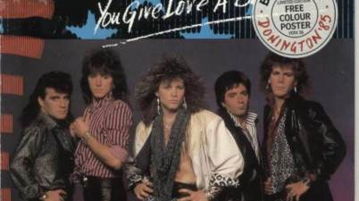 Bon Jovi - You Give Love A Bad Name Lyrics