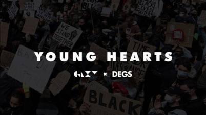 GLXY x Degs - Young Hearts Lyrics