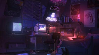 The Midnight - Monsters Lyrics