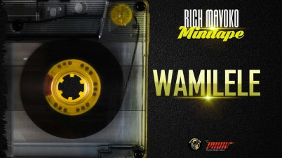 Rich Mavoko - Wamilele Lyrics