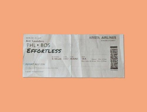 Ant Saunders - Effortless Lyrics