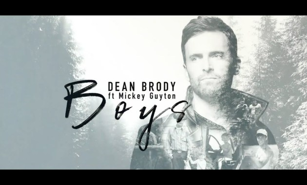 Dean Brody - Boys Lyrics