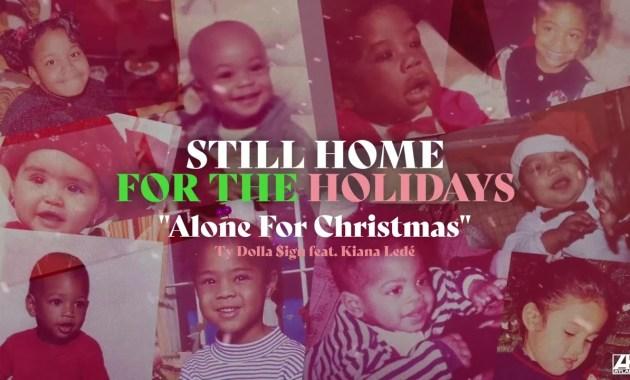 Ty Dolla $ign (feat. Kiana Ledé) - Alone For Christmas Lyrics