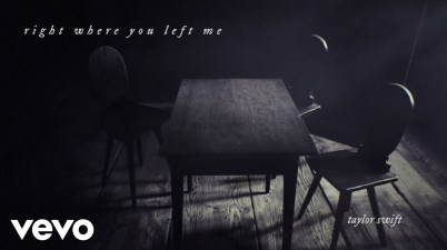 Taylor Swift - right where you left me Lyrics