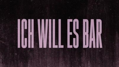 VEGA - ICH WILL ES BAR Lyrics