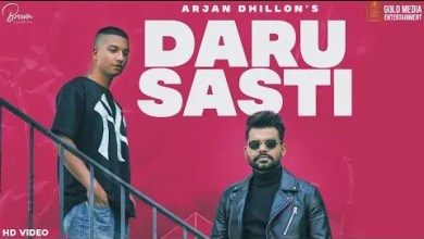 Photo of Daru Sasti Lyrics Arjan Dhillon | The Kidd