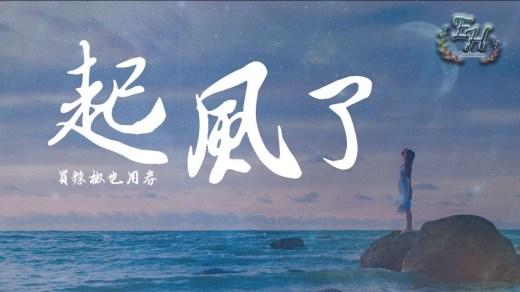 起風了 Pinyin Lyrics And English Translation