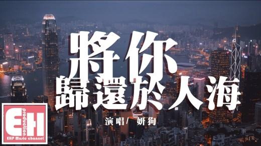 將你歸還於人海 Pinyin Lyrics And English Translation
