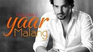 Yaar Malang Lyrics Lucky Shah 2015 New Single