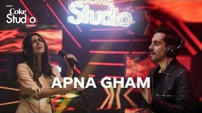 Apna Gham lyrics, Bilal Khan & Mishal Khawaja, Coke Studio