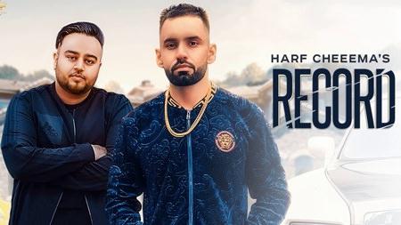 Record song Harf Cheema