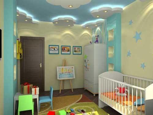 ديكورات جبس غرف نوم اطفال احدث ديكورات الجبس المودرن لغرف