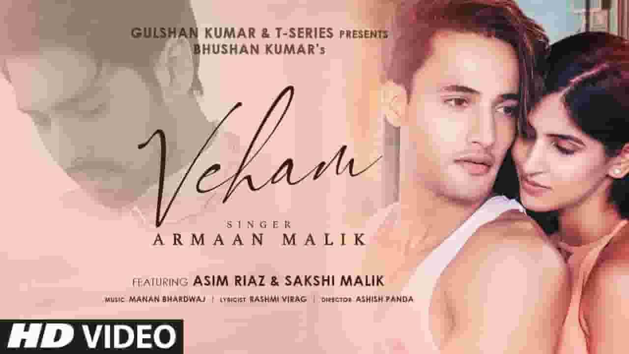 वेहम Veham Song Lyrics in Hindi - Armaan Malik
