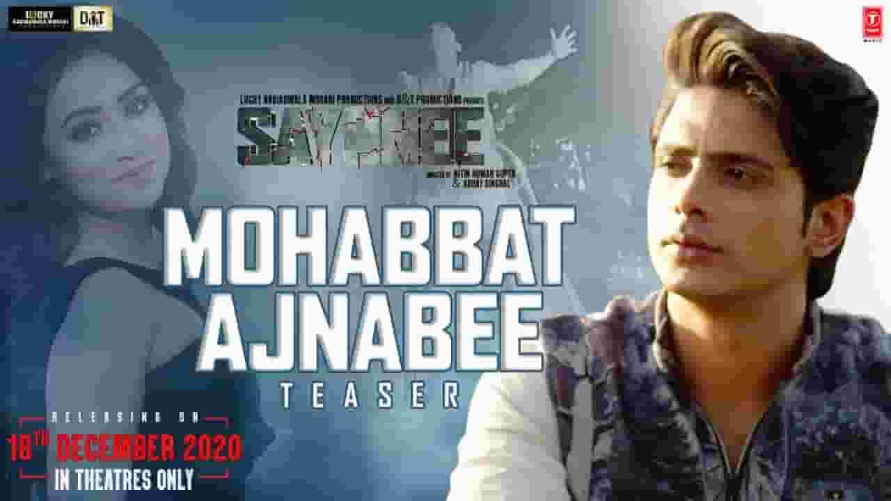 मोहब्बत अजनबी Mohabbat Ajnabee Lyrics In Hindi – Sayonee