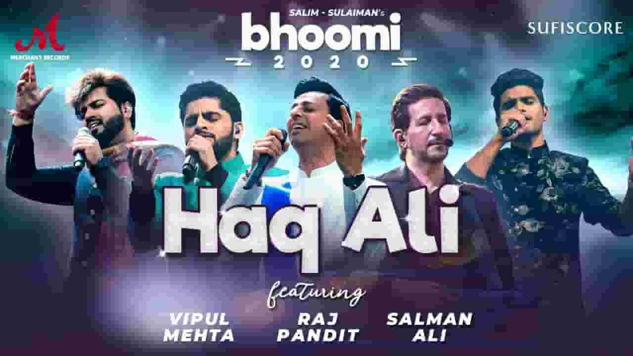 हक़ अली Haq Ali Lyrics In Hindi - Salim Merchant & Salman Ali