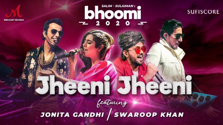 झीनी झीनी Jheeni Jheeni Lyrics In Hindi – Jonita Gandhi & Swaroop Khan