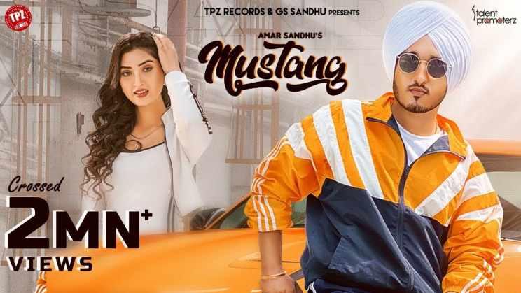मस्टैंग Mustang Lyrics In Hindi – Amar Sandhu