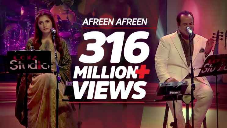 आफ़रीं आफ़रीं Afreen Afreen Lyrics In Hindi